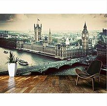 Benutzerdefinierte Retro-Tapete, London Vintage