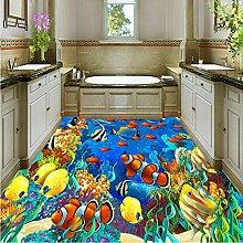 Benutzerdefinierte selbstklebende Boden Wandbild