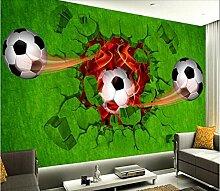benutzerdefinierte tapete 3d fußball fototapete