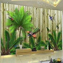 Benutzerdefinierte Tapete 3D Grün Tropische
