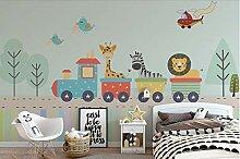 Benutzerdefinierte Tapete für Kinderzimmer Nordic