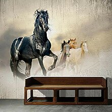 Benutzerdefinierte Tapete Pferd Leinwand Wandbild