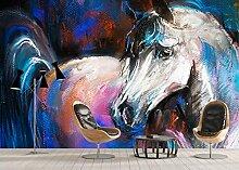 Benutzerdefinierte Tapete Pferd Wandbilder
