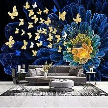 Benutzerdefinierte Tapete Schmetterling Leinwand