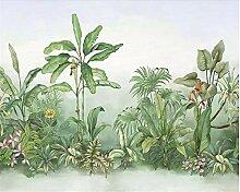 Benutzerdefinierte Tapete Tropische Pflanze