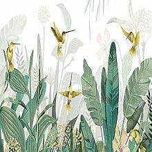 Benutzerdefinierte Tropische Pflanze Wald Vogel
