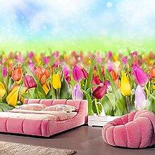 Benutzerdefinierte Tulpen Blumen Wallpaper