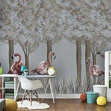 Benutzerdefinierte Wand 3D handgemalte Wald