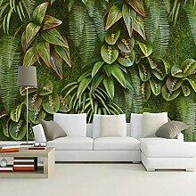 Benutzerdefinierte Wandbild 3D Grüne Pflanze