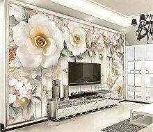 Benutzerdefinierte Wandbild Blumen Hintergrund