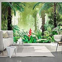 Benutzerdefinierte Wandbild Fototapete 3D Grünes
