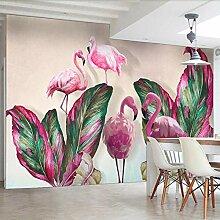 Benutzerdefinierte Wandbild Tapete 3D Rosa