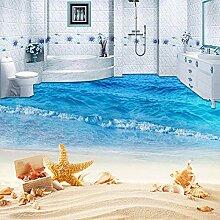 Benutzerdefinierte Wandbild Tapete 3D Strand Meer