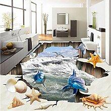 Benutzerdefinierte Wandbild Tapete 3D Wasserfälle