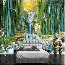 Benutzerdefinierte Wandbild Tapete Bambuswald