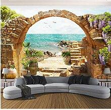 Benutzerdefinierte Wandbild Tapete Garten Stein