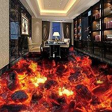 Benutzerdefinierte Wandtapete Moderne Feuer Flamme