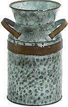 Benzara 93994 Asiatic Antique Metal Galvanized