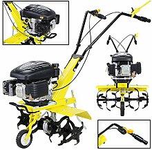 Benzin Gartenfräse Gartenhacke Motorhacke Bodenfräse 139cc Craftworx Kultivator 3,8kw (5,2PS) 2 Arbeitsbreiten 36cm / 60cm