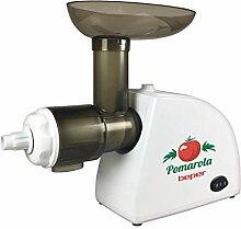 Beper BP.720 Tomaten Saftpresse Elektrische, Weiß