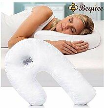 Bequee Side Sleeper U-Form Kopfstütze