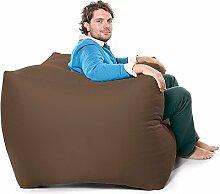 Bequeme Feste Modulare Sessel Sitzsack-Taupe