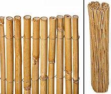 Berg Bambusmatte als Balkonverkleidung mit 100cm -