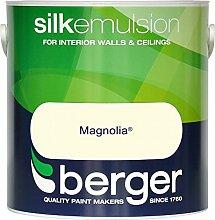 Berger Matt Emulsion Wandfarbe, 2,5l Magnolia