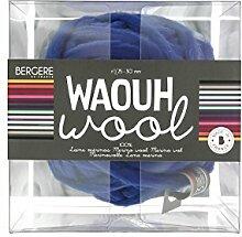 Bergère de France Waouh Wool 500 g, Wolle, Marine