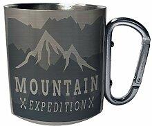 Bergexpedition, Camping Edelstahl Karabiner