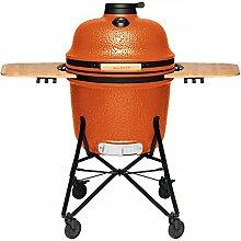 Berghoff Keramik Grill und Ofen, Bright Orange, groß