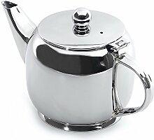 Berghoff Klassische Edelstahl-Teekanne, Silber,