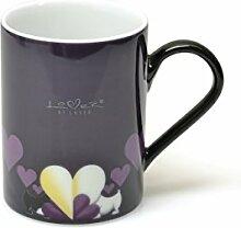 BergHOFF Porzellan Kaffee oder Tee Becher set, Lover von Lover Bulldogge