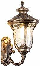 BERGHT Hoflampe Antik, Außenwandleuchte