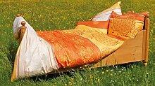 BERK BALANCE Bettbezug Blume des Lebens mangogelb