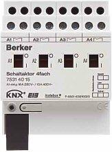 Berker Schaltaktor 4f.lgr 75314015 16A INSTABUS KNX/EIB Bussystem-Schaltaktor 4011334287766