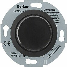 Berker Universal-Drehdimmer sw 283511 Nebenstelle