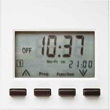 Berker Zeitschaltuhr polarweiß glänzend mit Display 17358989