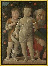 Berkin Arts Andrea Mantegna Rahmen Giclee Auf