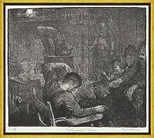 Berkin Arts George Bellows Rahmen Giclee Auf