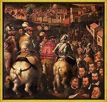 Berkin Arts Giorgio Vasari Rahmen Giclee Auf