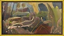 Berkin Arts Ivon Hitchens Rahmen Giclee Auf