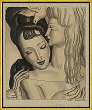 Berkin Arts Jean Dupas Rahmen Giclee Auf Leinwand