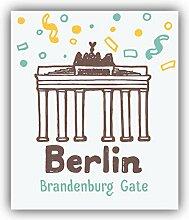 Berlin City Germany Brandenburg Gate -