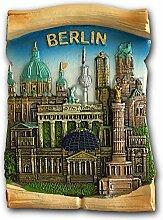 Berlin Deutschland 3D Kühlschrankmagnet Reise