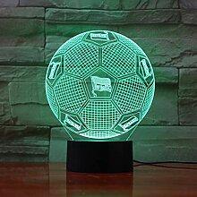 Berlin Hertha Fußball 3D Nachtlicht, Farbverlauf