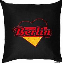 Berlin : Kissen mit Füllung - Witziges