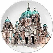 Berliner Dom in Germany Porzellan Dekoration