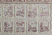 Berlintapete - Wallpaper On Demand - Fototapete - Illustration - Texturen - Alter Kachelofen Nr. 17970