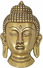 Bermoni Herr Buddha Kopf Skulptur Statue mit